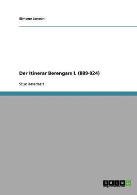 Der Itinerar Berengars I. (889-924)