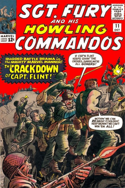 Sgt. Fury and His Howling Commandos Vol.1 #11