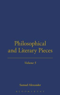 Philosophical And Literary Pieces