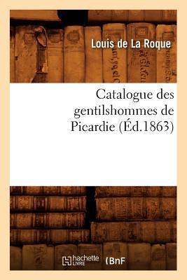Catalogue des Gentil...