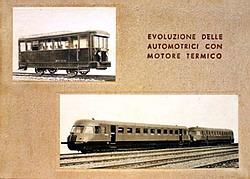 Evoluzione delle automotrici con motore termico