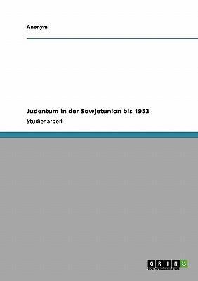 Judentum in der Sowjetunion bis 1953