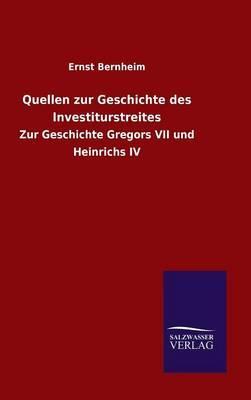 Quellen zur Geschichte des Investiturstreites