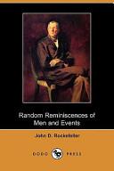 Random Reminiscences of Men and Events (Dodo Press)