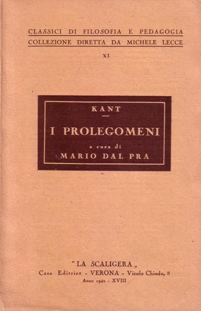 I prolegomeni