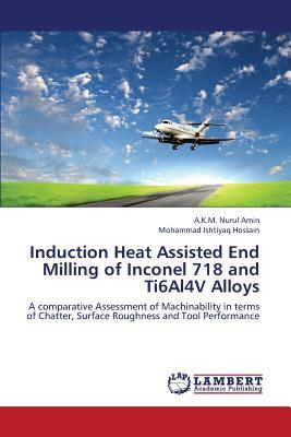 Induction Heat Assisted End Milling of Inconel 718 and Ti6Al4V Alloys