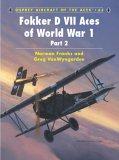 Fokker DVII Aces of World War 1 Part 2