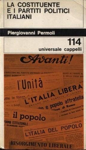La Costituente e i partiti politici italiani