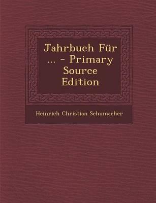 Jahrbuch Fur ...