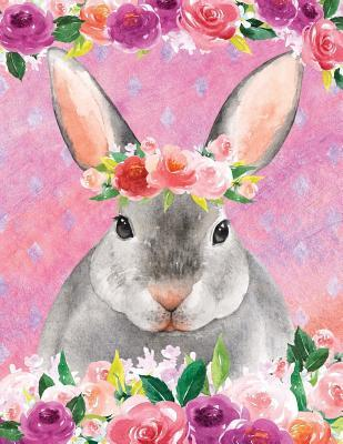 My Big Fat Bullet Journal For Animal Lovers Rabbit In Flowers