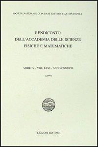 Rendiconto dell'Accademia delle scienze fisiche e matematiche