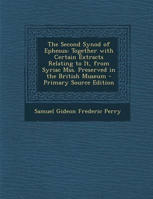 The Second Synod of Ephesus