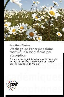 Stockage de l Energie Solaire Thermique a Long Terme par Absorption
