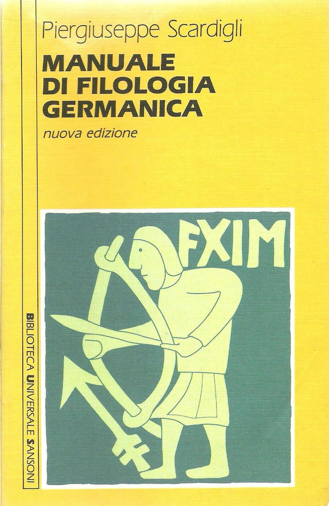 Manuale di filologia germanica