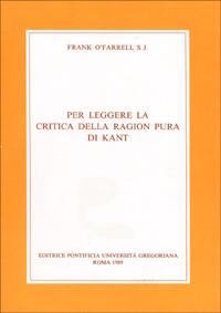 Per leggere la Critica della ragion pura di Kant