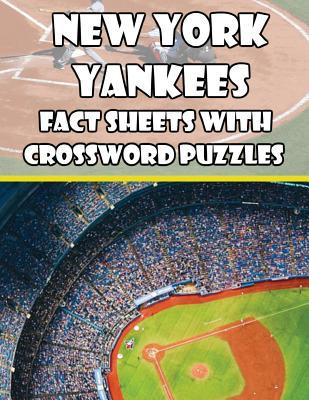 New York Yankees Fact Sheets with Crossword Puzzles