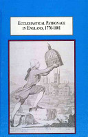 Ecclesiastical Patronage in England, 1770-1801