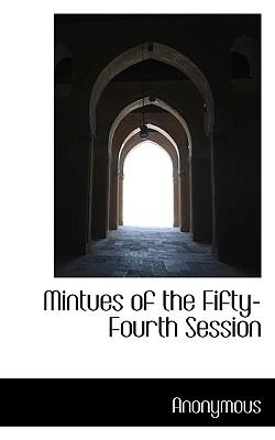 Mintues of the Fifty-Fourth Session