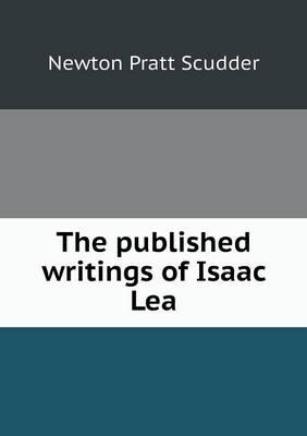 The Published Writings of Isaac Lea