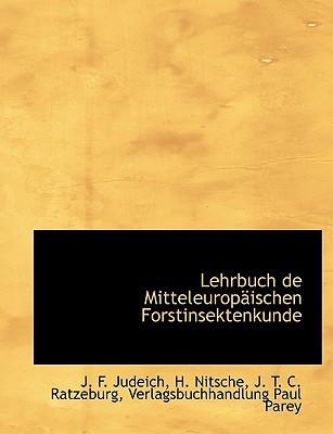 Lehrbuch de Mitteleurop Ischen Forstinsektenkunde