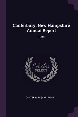 Canterbury, New Hampshire Annual Report