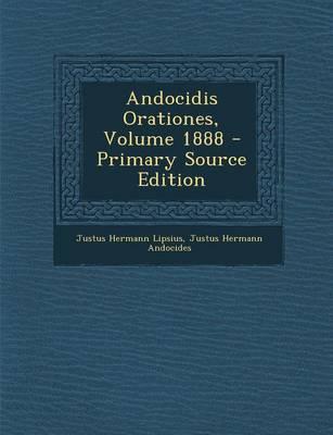 Andocidis Orationes, Volume 1888