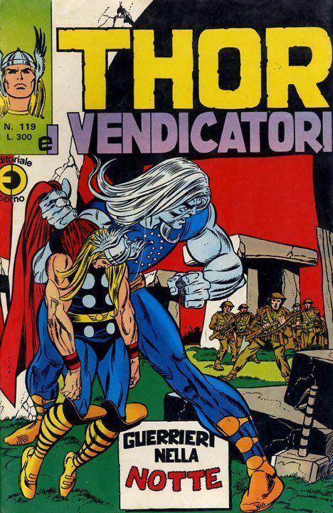 Thor e i Vendicatori (Il Mitico Thor) n. 119