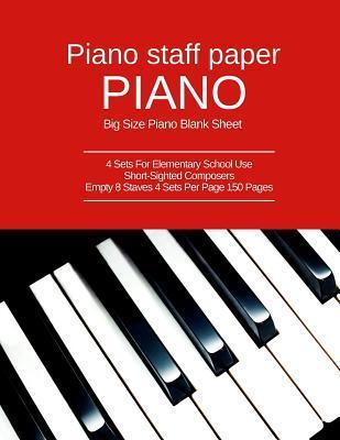 Piano Staff Paper Pi...