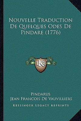 Nouvelle Traduction de Quelques Odes de Pindare (1776)