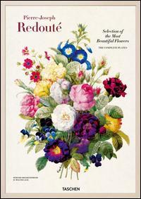 Redouté. Choix des plus belles fleurs. Ediz. italiana, spagnola e portoghese