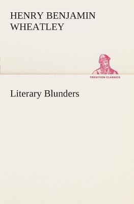 Literary Blunders