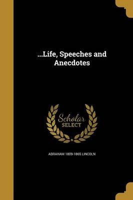 LIFE SPEECHES & ANEC...