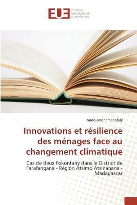 Innovations et Resilience des Menages Face au Changement Climatique