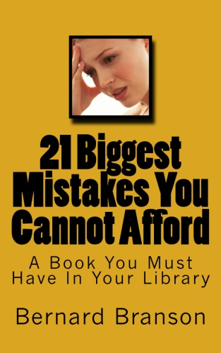 21 Biggest Mistakes You Cannot Afford