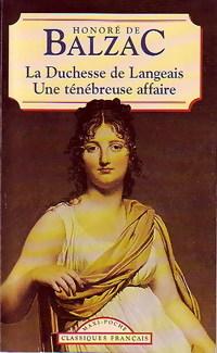 La duchesse de Lange...