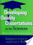 Developing Quality Dissertations in the Sciences