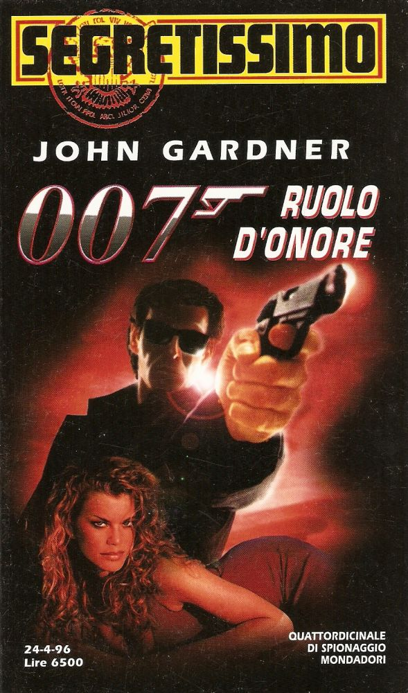 007 Ruolo d'onore