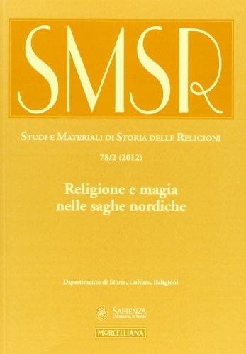 Studi e materiali di storia delle religioni n. 78/2 (2012)
