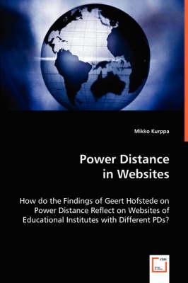 Power Distance in Websites