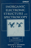 Inorganic Electronic Structure and Spectroscopy: Methodology