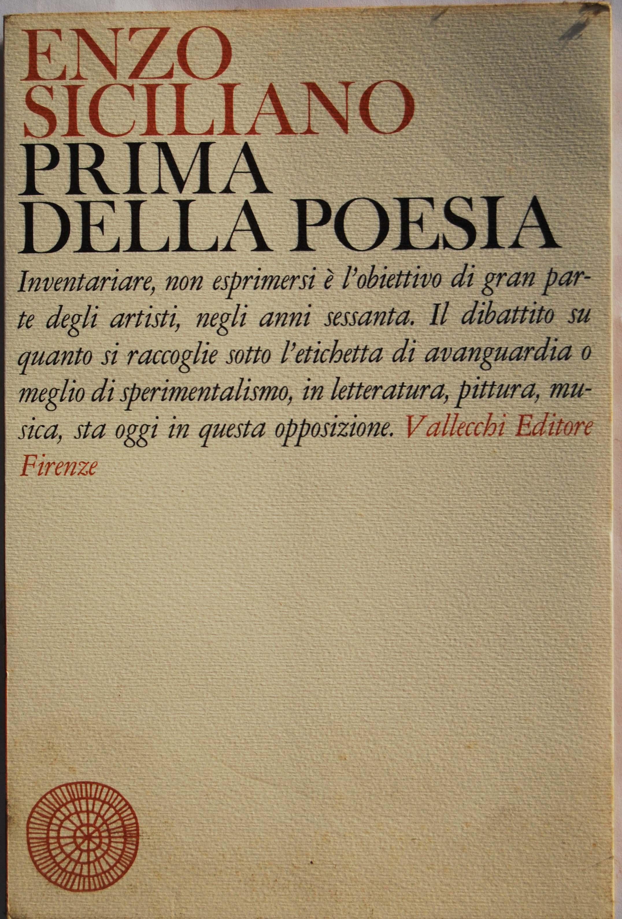 Prima della poesia