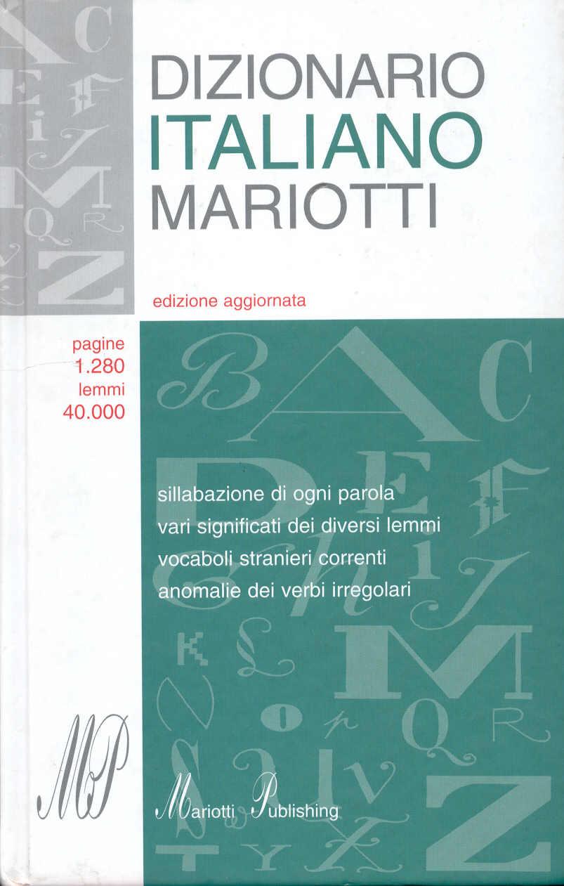 Dizionario Italiano ...