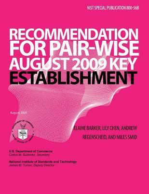 Recommendation for Pair-Wise Key Establishment Schemes Using Integer Factorization Cryptography