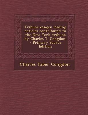 Tribune Essays; Lead...