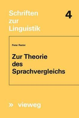 Zur Theorie Des Sprachvergleichs