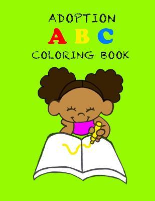 Adoption ABC Coloring Book