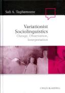 Variationist Sociolinguistics
