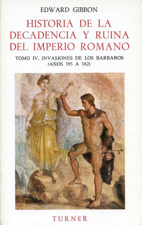 Historia de la decadencia y ruina del Imperio romano. Tomo V