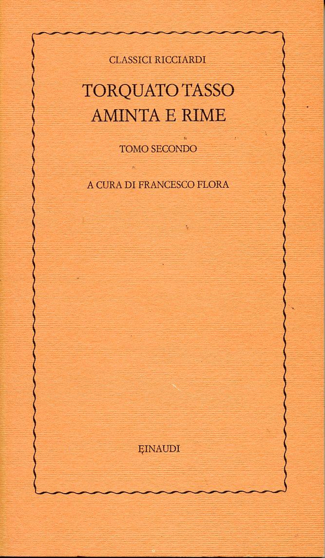 Aminta e rime - Tomo II