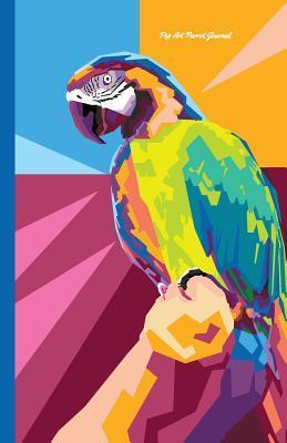 Pop Art Parrot Journal